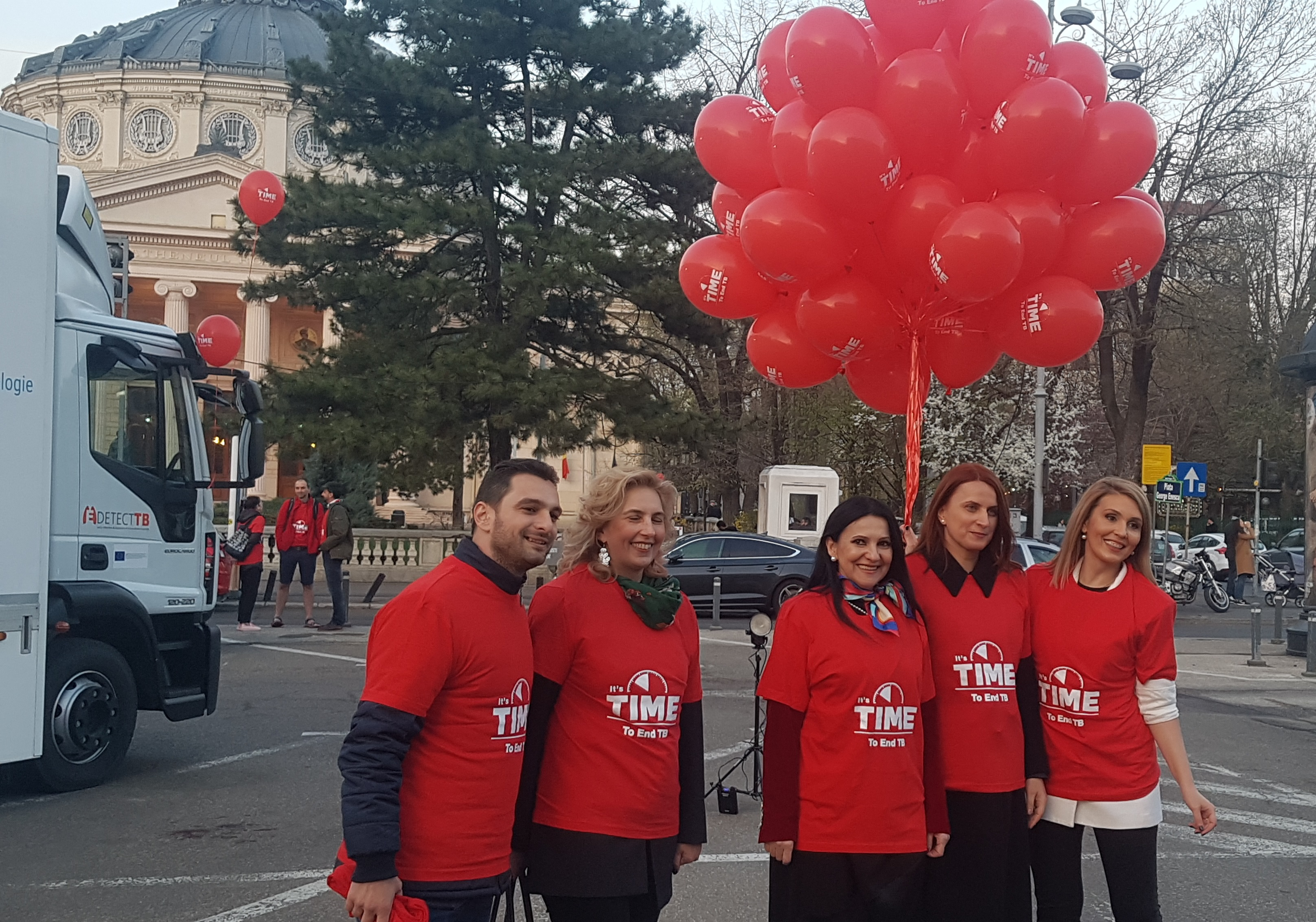 screening tuberculoză- Ateneul Român