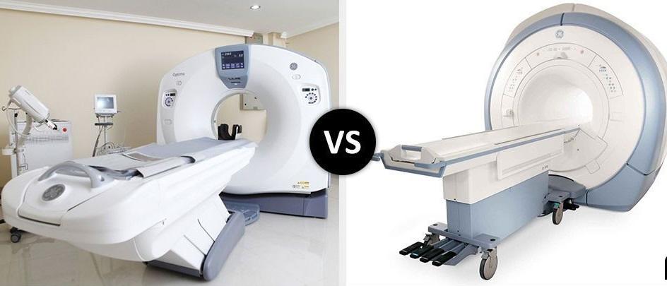 CT versus RMN- indicatii, siguranta, eficienta
