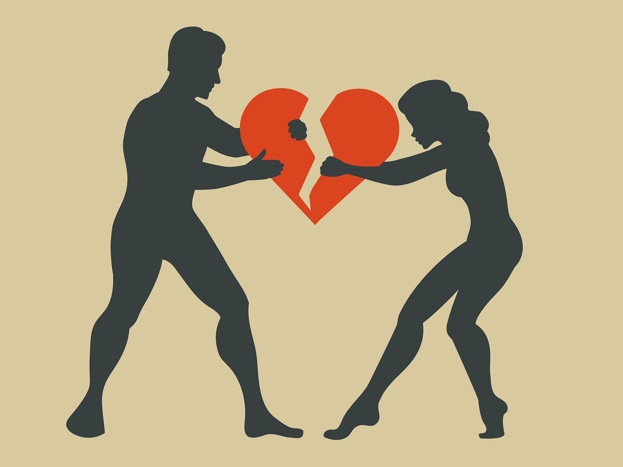 divorț/boli cardiace: femei versus bărbați